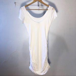 Splendid Dresses - Splendid White Jersey Dress Resorts Wear